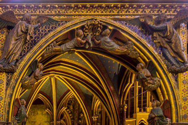 La Sainte Chapelle Interior