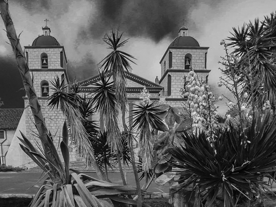 Mission Santa Barbara.