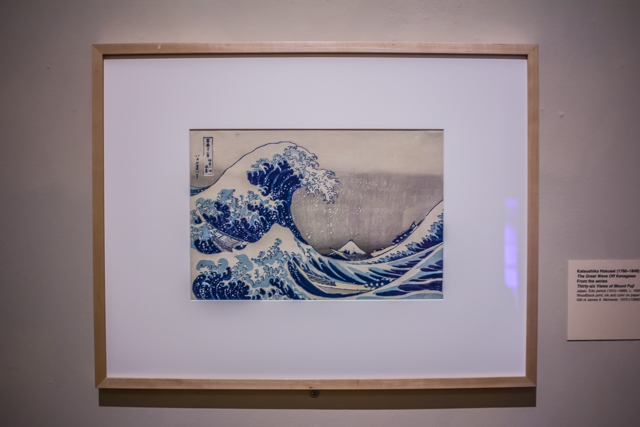 The Great Wave off Kanegawa by K Hokusai,c. 1830.