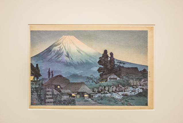 Mt Fuji Seen from Mizukubo, ca. 1935 by Shotei            Shotei (Hiroaki Takahashi) - 1871-1945