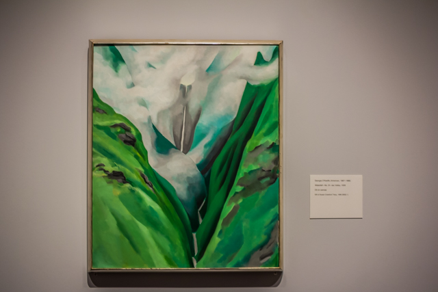 Waterfall—End of Road—'Iao Valley, 1939 Date: 1939 Artist: Georgia O'Keeffe