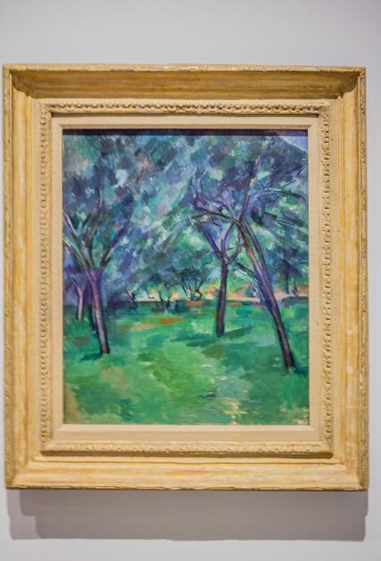 xx by Paul Cezanne