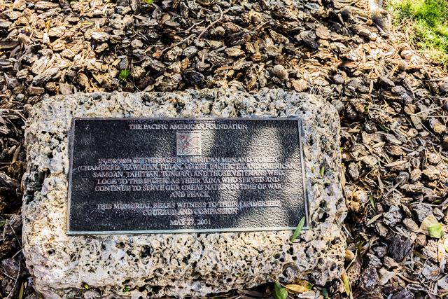 American Pacific Memorial.
