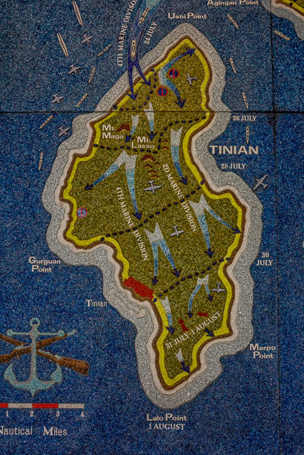 The Battle for Tinian.