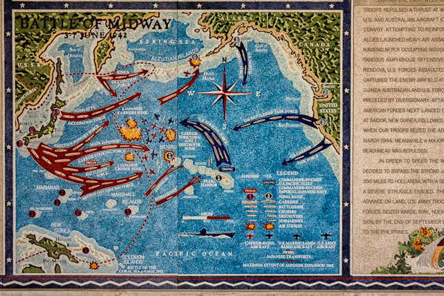 The Battle of Midway.