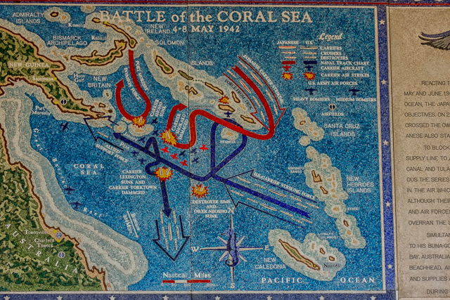 The Battle of the Coral Sea.