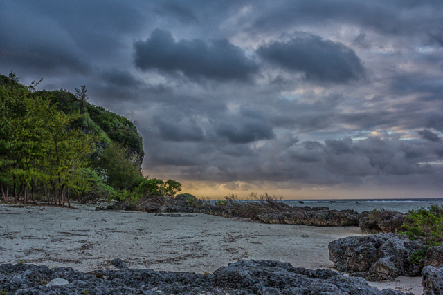 Tarague Beach.