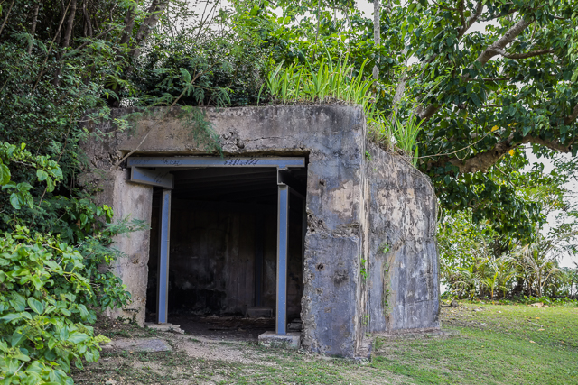 Chamorro slaves built the fortifications at Ga'an Point.