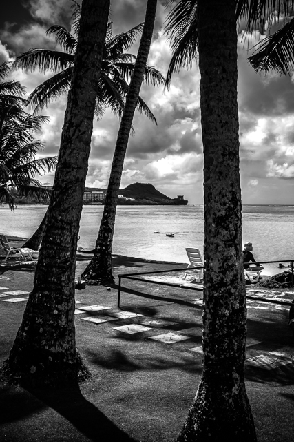 View of Tumon Bay from the Fiesta Resort Guam.