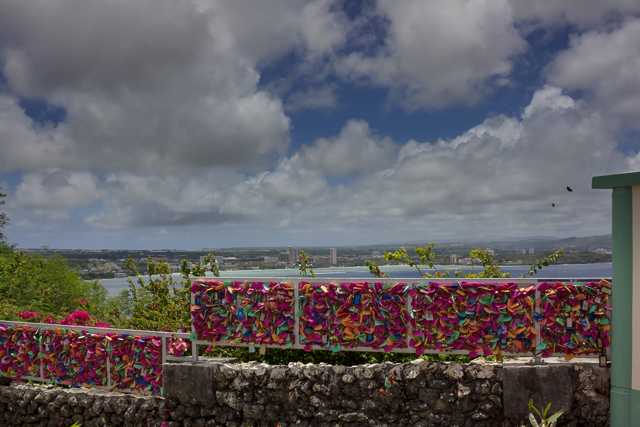 Love-locks at Two Lovers Point.
