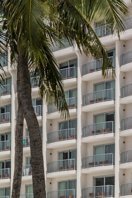 All of these rooms at the Fiesta Resort Guam have balconies overlooking Tumon Bay and the Philippine Sea.