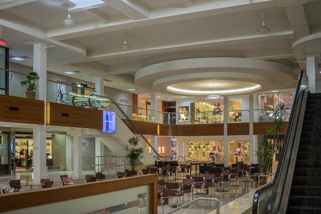 The atrium at Tumon Sands Plaza.