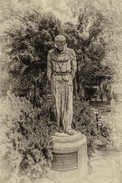 Junipero Serra by Arthur Putnam.