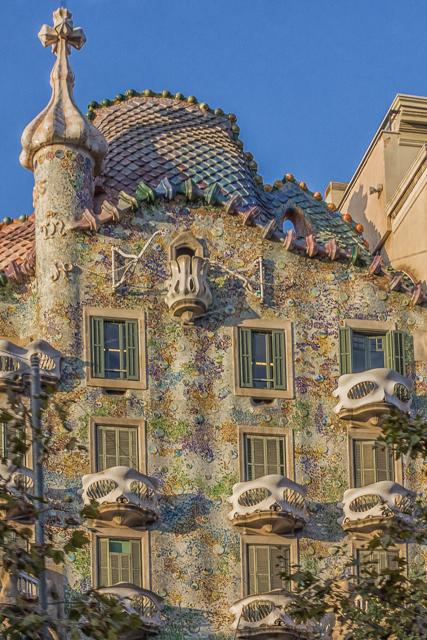 Gaudi's Casa Battlio.