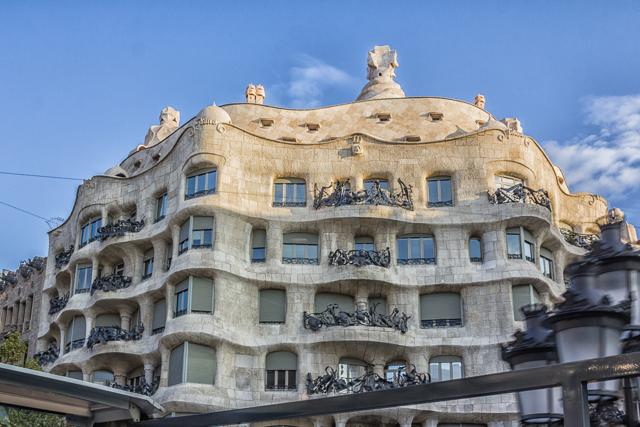 Gaudi's Casa Milo, also known as La Pedrera.