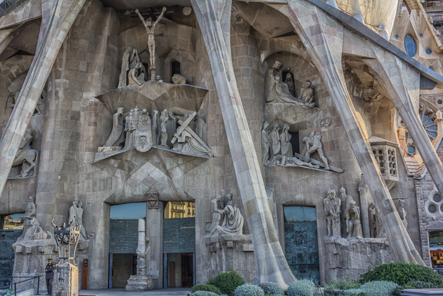 Passion facade,La Sagrada Familia.