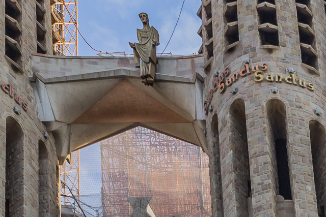 Christ's Ascension, La Sagrada Familia.