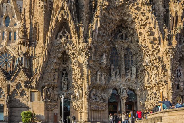 Nativity facade, La Sagrada Familia.
