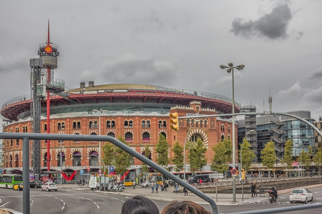 This famous bullring on the Placa d'Espana is now a shopping center.