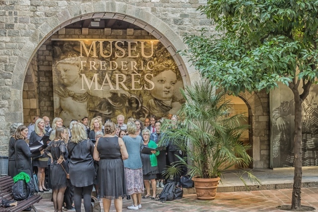 The Scandinavian choir at the Mares Museum.