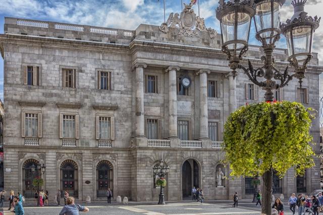 Barcelona's City Hall.
