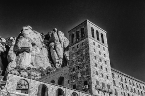 The Benedictine monastery of Santa Maria de Montserrat.