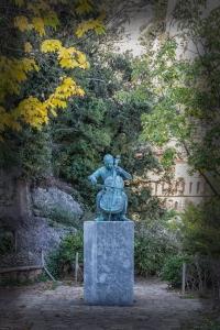 Tribute to Pablo Casals who was born in Catalonia in xx.