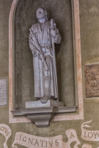 Ignatius Loyola stayed at the monastery for awhile and then went off to found the Society of Jesus.