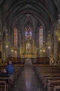 The interior of La Concepcio.