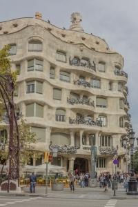 Gaudi's Casa Mila.