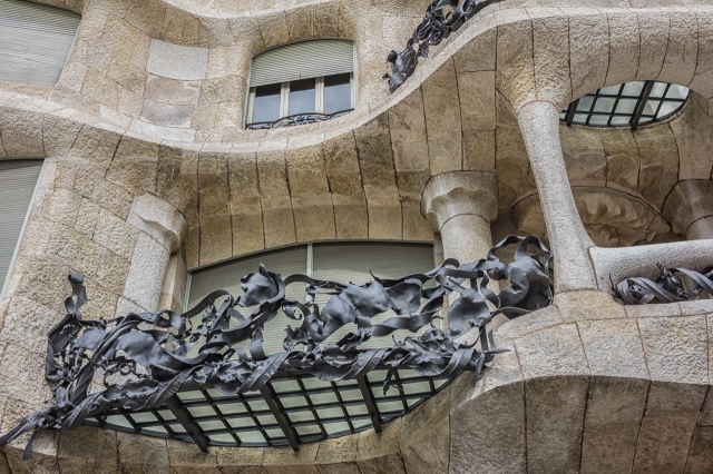 Gaudi was proud of the fact that he descended from a long line of iron workers.