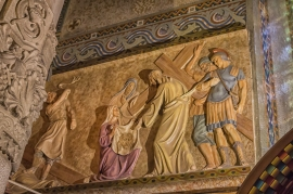 One of the 14 Stations of the Cross.