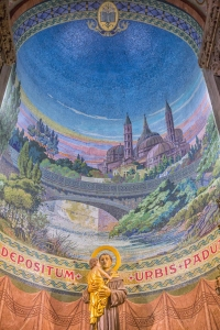 St Anthony of Padua.