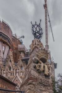 Construction began on the basilica in 1882. Antoni Gaudi took over in 1883 and worked on his favorite project until he died in 1926.