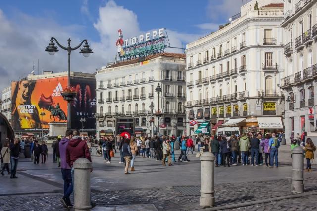 Puerta del Sol.