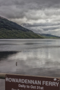Many people take the ferry to Rowardennan and then walk to the top of Ben Lomond and back. It takes about five hours.