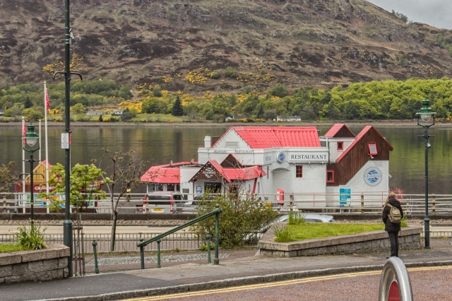 A popular seafood restaurant in Fort William.